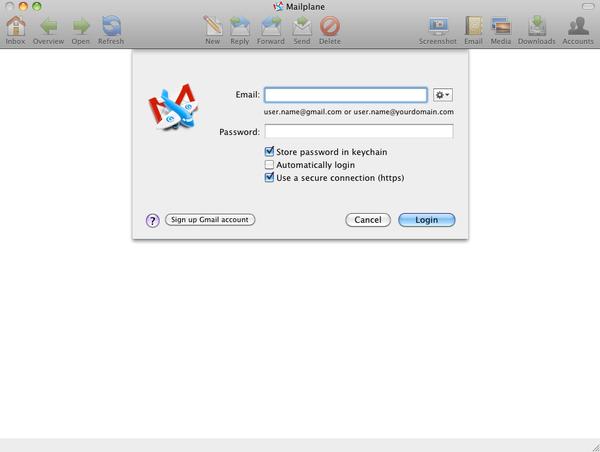 mailplane 1 Mailplane: Почтовый клиент для Gmail