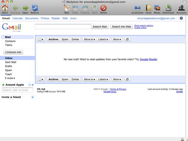mailplane 2 Mailplane: Почтовый клиент для Gmail